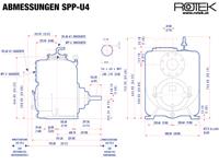 SPP-U4 - Abmessungen