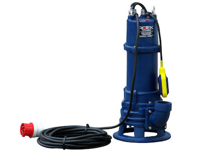 WPET-TSH-01.5kW-400 Schrägansicht