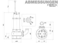 WPET-TCM-07.5kW-400 Abmessungen