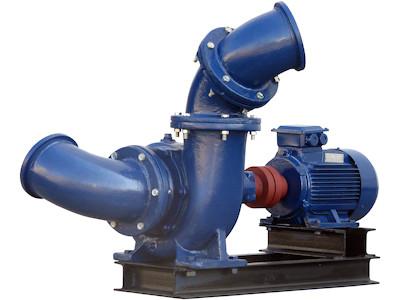 Mixed Flow Pumpe WPEI-004kW-150HW5, Frontansicht schräg