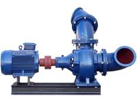 Mixed Flow Pumpe WPEI-004kW-150HW5, rechte Seite