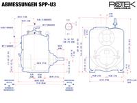 SPP-U3 - Abmessungen