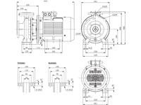 WPEI-CESM50-32-250B - Detailabmessungen