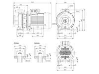 WPEI-CESM65-40-200B - Detailabmessungen