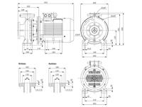 WPEI-CESM80-65-125 - Detailabmessungen
