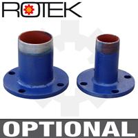 WPEI-CESM80-65-125 - Optionale Schraubflansche