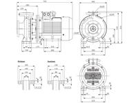 WPEI-CESM65-40-250 - Detailabmessungen