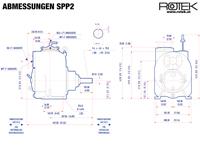 SPP2 - Abmessungen