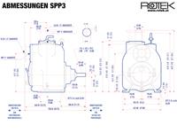 SPP3 - Abmessungen