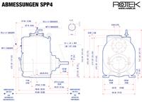 SPP4 - Abmessungen