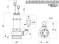 WPET-TCM-03.0kW-400-SK Abmessungen