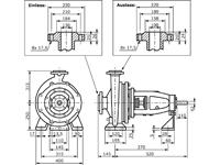 IS125-100-315 - Abmessungen