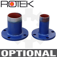 WPEI-CESM80-50-200 - Optionale Schraubflansche