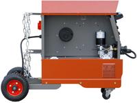 SWG-M250P Drahtvorschubmotor und Spulenaufnahme