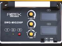 SWG-MIG250P Bedienpanel
