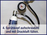 WKZ-SD09-A, Anwendung 5 von 5: Reinigung nach Verwendung