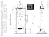 WZWP-20MPV Masszeichnung