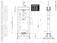 WZWP-020MH Maßzeichnung