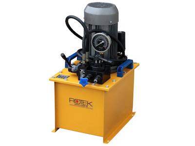 Hydraulikpumpe, Hydraulikaggregat, 600 Bar, 8.6 l/min, 2.2kW, 230VAC, ideal für Werkstattpressen, Holzspalter usw.