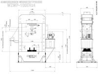 WZWP-100EVx4 - Abmessungen