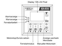 Elektronische Motorsteuereinheit RTG3s Frontpanel