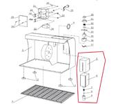Poliermittelspender Assembly zu Schuhputzmaschine SPA-3BSW