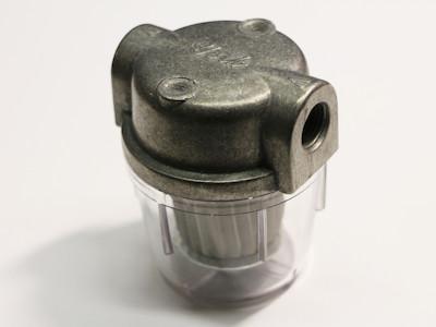 Dieselfilterm, Heizölfilter, Vorfilter mit Schauglas und Metallfilter
