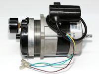 Lüftermotor mit Kompressor und Manometer passend zu BGO 20/30, HO-20/30kW Ölheizkanonen mit Venturisystem, mit Manometer