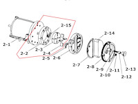 Kompressor Reparatursatz zu HO-30-230, HO-30-230-T, HO-30-230-TI