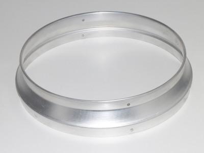 Ersatzteil Abgangsflansch zu Ölheizer Indirektheizer 50kW HOI-50-BG - Aluminium
