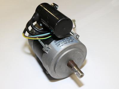 Lüftermotor mit Kupplung zur Ölpumpe Danfoss, zu HOI-30 Ölheizkanonen mit Ölpumpe und Kamin/Abzug