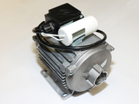Lüftermotor mit Kupplung zur Ölpumpe Danfoss, zu HOI-50 Ölheizkanonen mit Ölpumpe und Kamin/Abzug