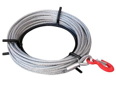 Stahlseil 8,3mm - 20m Länge - auf Handhaspel - Ersatzseil für SZ-Seilzug 800kg