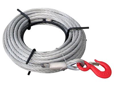 Stahlseil 16mm - 20m Länge - auf Handhaspel - Ersatzseil für SZ-Seilzug 3200kg