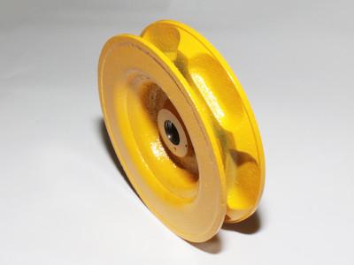 Kettenrad Kettenrolle Kettenantrieb Durchmesser 110mm, Breite 25mm, für Kette 5x23,7mm