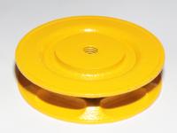Kettenrad Kettenrolle Kettenantrieb Durchmesser 150mm, Breite 25mm, für Kette 5x24