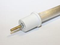 Glasfaser Heizstab 600W, 230V, bis 400°C