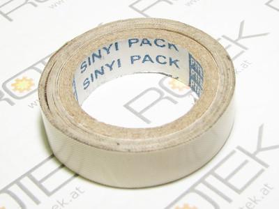 selbstklebendes Teflonband für Schweißbalken / Vakuumsealer / Folienschweißgeräte B=15mm