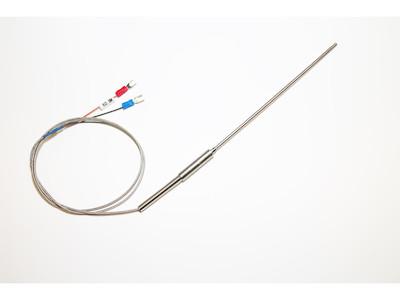 Thermoelement, Temperatursensor, Thermokoppler K-Type Cr-Ni bis 800°C