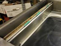 Seitliches Abdeckblech für Schweißbalken 400mm