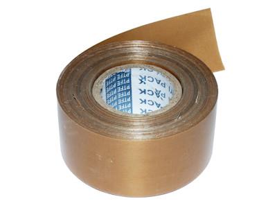 PTFE Teflon Abdeckband für Folienschweisser, Schweissbalken - 40mm Breite, 0.13mm Stärke, 40m Rolle