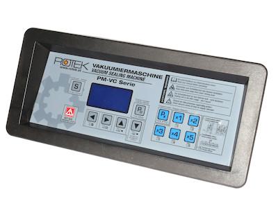 Kontrollpanel samt Steuerplatine und Vakuummeter passend zu VC-400 Vakuumsealer Vakuumierer