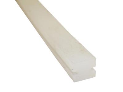 Silikon Andruckstreifen für 600mm Folienschweißer / FS-L0600-B10 STEP Sealer, H-Profil