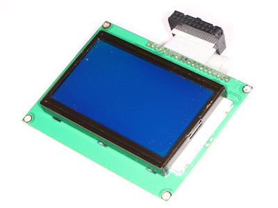 LCD Display mit Backlight Hintergrundbeleuchtung 70x39mm