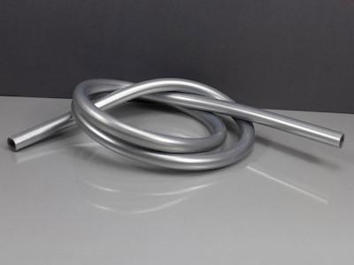 Silikonschlauch 10mmx1.5mm, Grau, passend zu Stabförderketten Rotek Schrumpftunnel BS-xx Serie