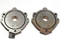 Pumpendeckel zu Vakuumpumpe VP-20, XT-20 Vakuumpumpe<br>Deckel Assembly - beide Deckel, Front- und Rückseite