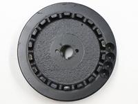 Impeller Pumpenrad mit Hartmetallschneidzahn zu WPE-TCH-1.5kW-400V