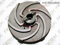 Impeller / Pumpenrad zu Tauchpumpe Schredder 3 kW - der Schneidring ist NICHT enthalten