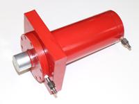 ROTEK 100t Hydraulikzylinder für Werkstattpressen, WZWP-100EV - 100 Tonnen = 1000 kN