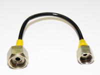Hydraulikleitung Adapterleitung Manometer Adapter 270mm, M20x1.5 auf M16x1.5 Anschlüsse